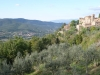 Toscane route